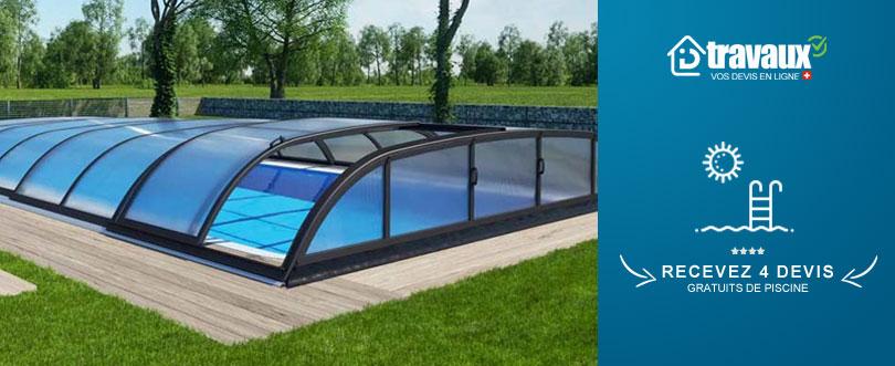 Abri piscine suisse