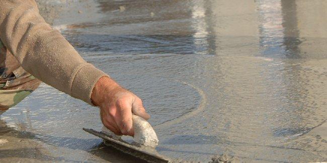 chape beton liquide